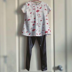 Girl's Zara Valentine's Day Outfit